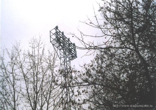 Стадион Октябрь - мачта освещения