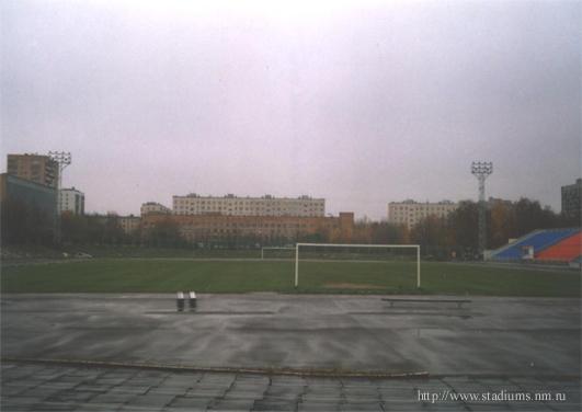 Стадион Октябрь - поле